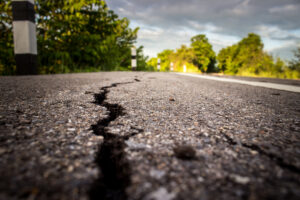 Road quality and defect inspection using high powered Near Infrared Laser line technology