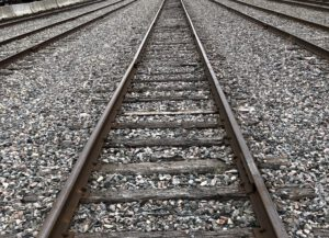 Rail road inspection using high power near infrared lasers